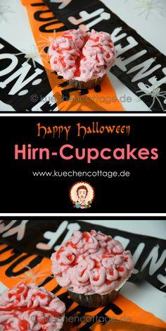 Gruselig geht's weiter:  Hirn-Cupcakes | Küchencottage  http://kuechencottage.de/hirn-cupcakes/  Das Rezept für die schaurigen Hirn-Cupcakes findest du auf kuechencottage.de  #halloween #partyfood #cupcakes #rezeptideen #zumfürchtengut #backideen #backen #muffins #cupcakes #foodblog #foodporn #foodie