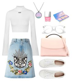 """""""5"""" by alin-dee on Polyvore featuring мода, Cynthia Rowley, Off-White, Gucci и Mint Velvet"""