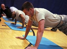 Military Fitness Test - maybe not reasonable but good to know.