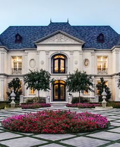 Exquisite French Chateau Style Home with Classical Architecture - Dallas, Texas