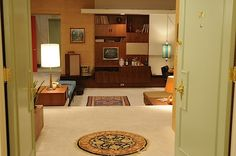 Mad Men - Don Draper apartment -- Apt 17B -- view from front door. Apartment is set on Park Avenue & 77th Street... May 2012