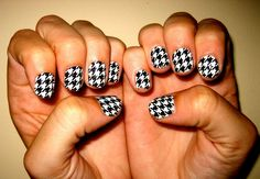 Stick on nail designs. WAY easier than self painted nail art. <3 @Alice Vaught must try