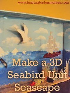 Seabird Unit/ Make Your Own Seabird Diorama from Harrington Harmonies
