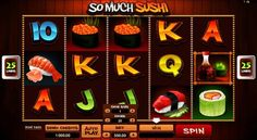 Are you hot enough to try So Much Sushi from Microgaming slots? Try the adventures of free slots online play before risking your money! Free Slots, Slot Online, Slot Machine, Game Art, Sushi, Play, Games, Holiday Decor, Gaming