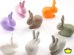buy the qeeboo rabbit chair + daisy lamp from the designboom shop!