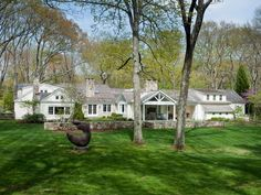 232 Newtown Tpke, Weston, CT 06883 is For Sale - Zillow | 13 acres | 7,884 sf | 5 bed 7 bath | c.1935 (completely updated) | 1 hr from NYC | 2300 sf guest house | 8,399,000 USD