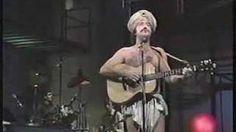 """Andy Kaufman sings """"Rosemarie"""" on Letterman, via YouTube."""
