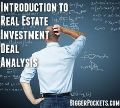 "Are you a real estate investor or agent? Are you looking to learn how to determine if a property is a ""good deal""? This article goes into great depth explaining deal analysis . . . check it out and please share! http://www.biggerpockets.com/renewsblog/2010/06/30/introduction-to-real-estate-analysis-investing/"