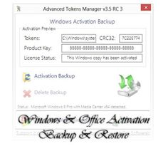 A simple guide on preserving your Windows and Office Activation files for future restorations.