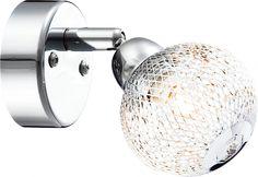 lampa cu abajur din sticla Globo SAINT MARY 56683-1