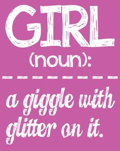 Girl Wall Art Girl Room Decor GIRL: a por LittleLifeDesigns