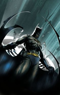 Batman By Gabriele Dell'Otto #Comics #Illustration #Drawing