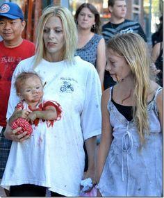 El Mejor Disfraz Zombie Familiar