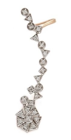 | Kismet by Milka Left Diamond Ear Cuff |