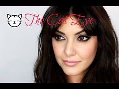 ▶ Easy CAT EYE inspired by Brigitte Bardot, Sophia Loren, Elizabeth Taylor - YouTube
