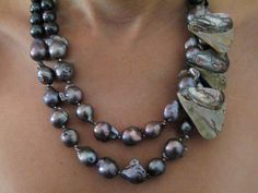 South sea Baroque pearls.