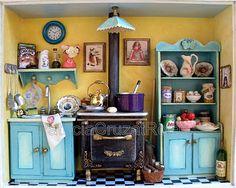 Patricia Cruzat Artesania y Color: Cocina con Miniaturas para NIÑA