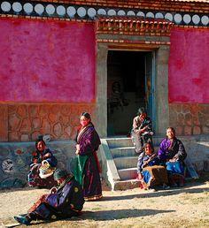 Gossip of the Town,Tibet by reurinkjan, via Flickr