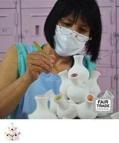 Stapelvaas, Thailand, Fair Trade Original