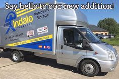 New vehicle for Indalo Transport Ford Transit, Say Hello, How To Find Out, Vehicle, Spain, How To Remove, Told You So, Europe, Sayings