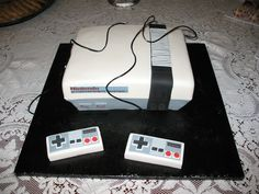 Classic Nintendo gaming console #cake Grooms, Computer Mouse, Console, Nintendo, Gaming, Cakes, Classic, Pc Mouse, Boyfriends