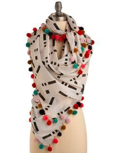 32 Easy-To-DIY Scarves To Suit Every Style