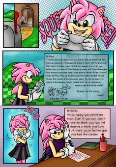 Page 2: Page 4: Continuing with posting a comic once a week. I dunno how long this is gonna last since evidently the demo for the 3DS games comes out on Tuesday. I suppose it shouldn't take me too ...