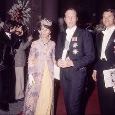 Olav and Martha's son, Harald, broke with royal protocol and married a commoner, Sonja Haraldsen, on 29 August 1968. Since then she has been the only royal lady to wear the emerald tiara