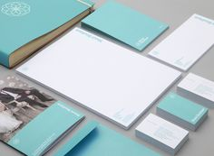 Clean, minimalist layout and strong incorporation of brand colour.