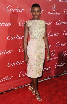 Lupita Nyong'o- Golden Globes - Nieuws - Fashion - GLAMOUR Nederland