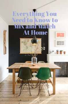 Everything You Need to Know to Mix and Match At Home | Apartment Therapy