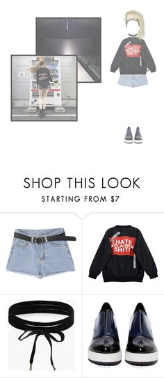 """◇taylor.rssss2017◇"" by anonymons ❤ liked on Polyvore featuring Chicnova Fashion, Boohoo and Shellys"