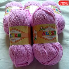 Alize softy. The softest baby yarn. Face towel by HandyFamily, €2.35