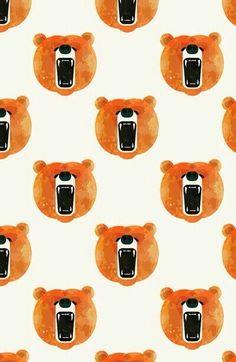 Fondo de pantalla osos.-