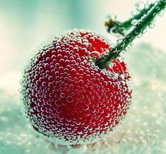 """Cherry Bomb"" by naked-in-the-rain. 43 Examples Of Stunning Macro Photography 