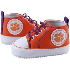 baby Clemson sneakers...would love to have these for a little one years from now!