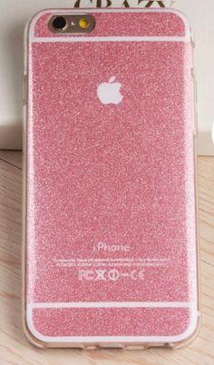 "Apple iPhone 5 5s 6 6s 6S Plus soft Gel Light TPU+IMD Metal gloss back cover Bling Glitter Shimmering Phone Case "" FREE SHIPPING """