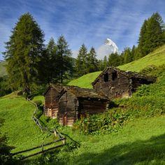 coiour-my-world: Blatten Zermatt by pierre hanquin on Flickr.