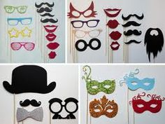 Cute Photo Booth Props....I can sooo make these