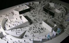 韓国ソウル 公共施設エコセンター コンペ案 Arch Model, Architecture Plan, Design Museum, Models, Park, Inspiration, Curves, Architecture, Places