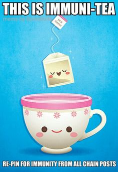Shop Kawaii Tea Time Card created by casakawaii. Tea Puns, Chain Letter, Mr Wonderful, Kawaii Shop, Good Morning Good Night, Linnet, Happy Wednesday, Im Trying, Craft