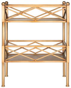 Jameson Gold Shelving