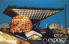 Phenomenal Architecture in the 1967 World's Fair in Montreal.