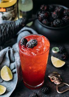 blackberry el diablo cocktail