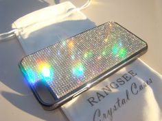 Iphone 6 / 6s Case Rangsee Crystal Cases are our personal selection of high quality mobile phone cases. We use Rhinestone Crystals that have gone through multiple inspections to insure you get the highest quality product. I have made a special edition Gold Edition that fit very nice for the Gold iPhone. I have 4 crystal colors, Black Diamond. Purple Amethyst, Red Siam and Clear Diamond. and I add a gold color in the glue between the crystals, to make the case even more luxurious. Ran...