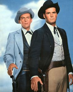 The Brothers' Maverick. My Buddy and I never missed a show. 57 years later and we still call each other Bret & Bart. Classic Tv, Classic Movies, Maverick Tv, Jack Kelly, Tv Westerns, Thing 1, Sean Connery, My Buddy, Steve Mcqueen