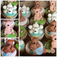 Bear Cupcakes By pastelicious on CakeCentral.com