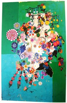 Beatriz Milhazes (born 1960) is a Brazilian artist. She is known for her work juxtaposing Brazilian cultural imagery and references to western Modernist painting.