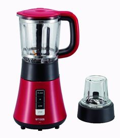 TIGER mill mixer with Pearl Red SKSA700RL -- Amazon most trusted e-retailer #StandMixer Stand Mixer, Drip Coffee Maker, Kitchen Appliances, Pearls, Red, Amazon, Diy Kitchen Appliances, Home Appliances, Amazons