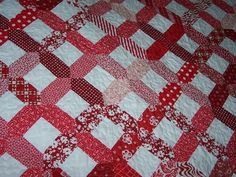 based on the American Pie quilt pattern by Miss Rosie's Quilt Co.